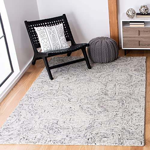 Safavieh Aspen Collection APN286F Grey and Beige 5' x 8' Area Rug,