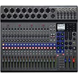 Zoom LiveTrak L-20 Digital Mixer & Multitrack Recorder, 20-Input/ 22-Channel SD Card Recorder, 22-in/4-out USB Audio Interfac