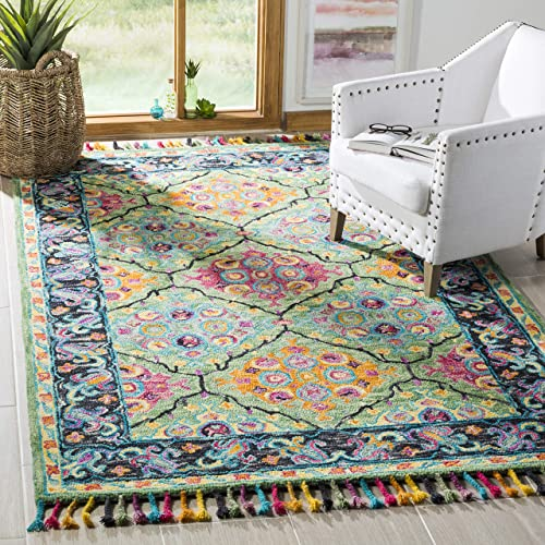 Safavieh Aspen Collection APN114Y Handmade Wool Area Rug