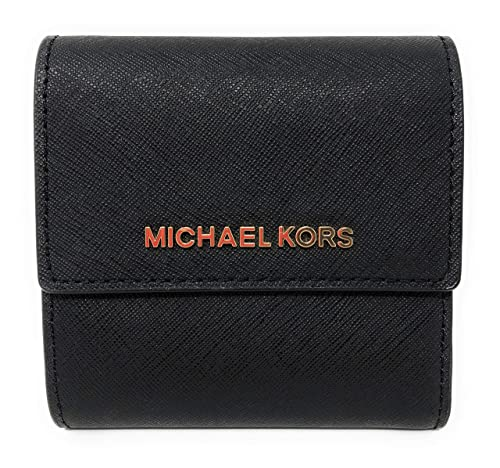 Michael Kors Jet Set Travel Carryall Card Case Leather Small