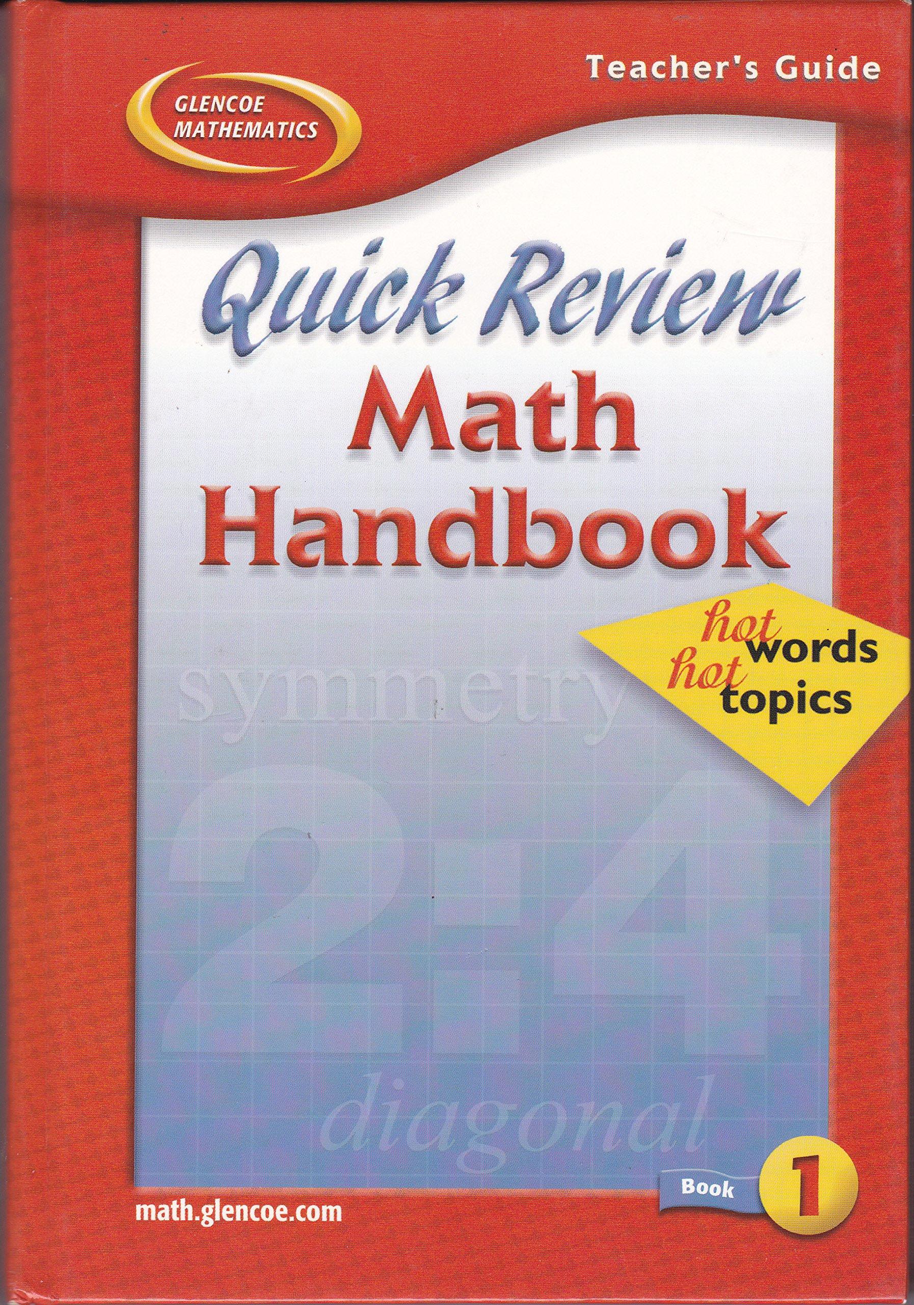 Quick Mathematics Book