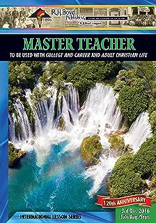 Master teacher 2nd quarter 2016 sunday school kindle edition by master teacher 3rd quarter 2016 sunday school fandeluxe Choice Image