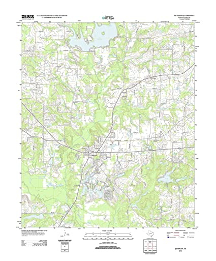 Map Of Quitman Tx.Amazon Com Topographic Map Poster Quitman Tx Tnm Geopdf 7 5x7 5