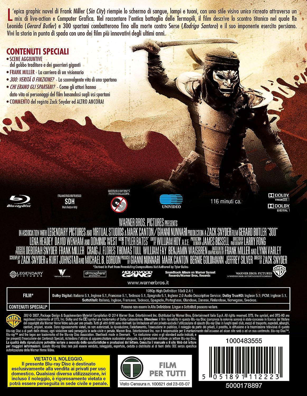 300 (Ltd Steelbook) [Italian Edition]: Amazon.co.uk: Tyler Bates ...