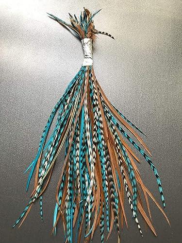 100 Hair Craft Feathers SHORT TO MEDIUM LENGTH,