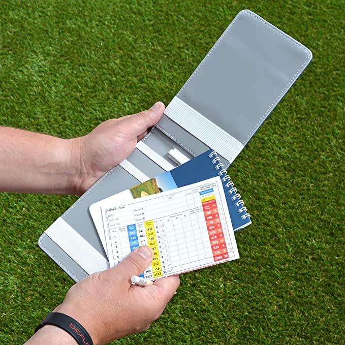On Par – Soporte para Tarjeta de puntuación de Golf