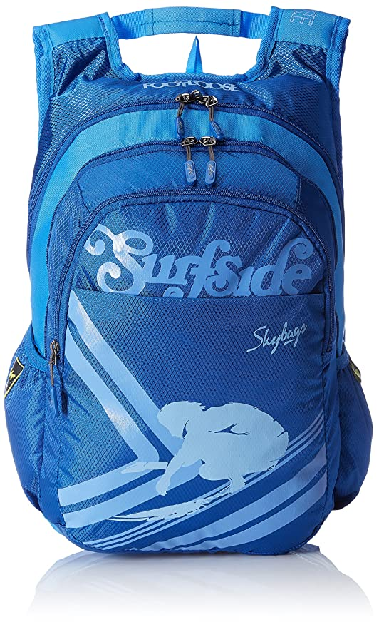 a3ebf52c8c Skybags Polyester 30 Ltrs Blue Laptop Bag (LPBPBLFS5BLU)  Amazon.in ...