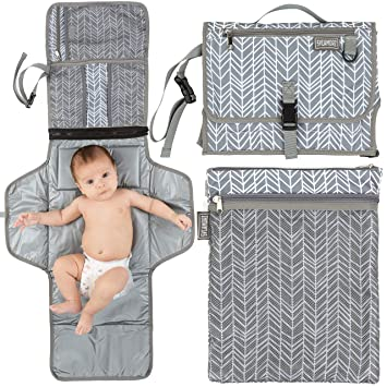 Baby Multifunction Portable Changing Mat Folding Waterproof Diaper Nappy Pad Bag