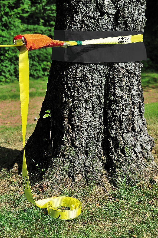 HUDORA Slackline Set mit Baumschutz 76656 Balancierseil