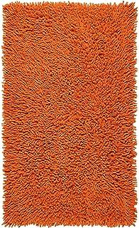 Copper 21x34 Shagadelic Chenille Twist Rug- Shag