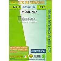 mfmx17unidades 8piezas Bolsas Repuesto Moulinex COMPATIBLES con todos
