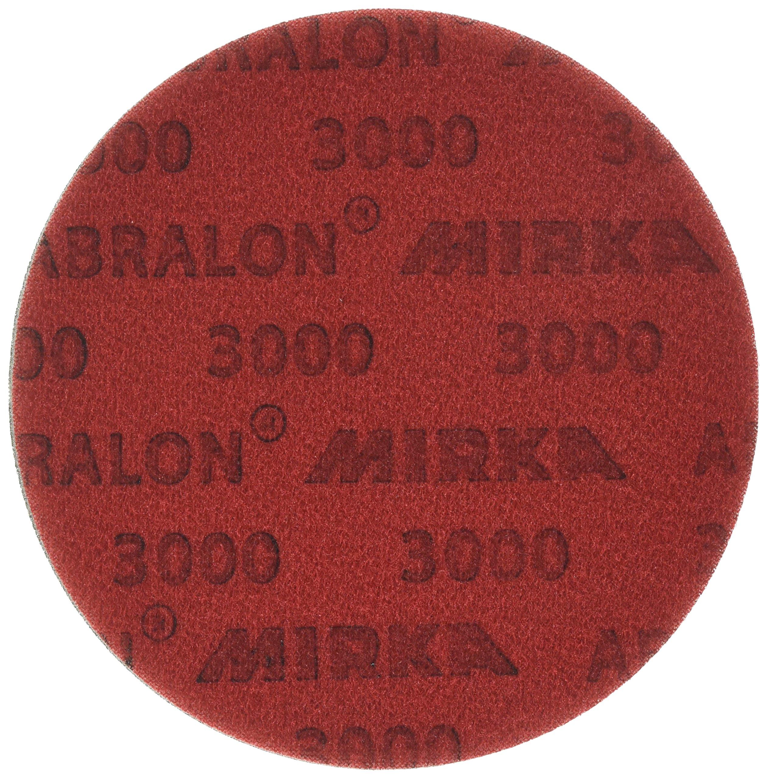 Mirka 8A-241-3000 Abralon 6'' 3000 Grit Foam Backed Velcro Hook & Loop Polishing & Buffing Discs 8A-203-3000 Box of 20 Discs by Mirka