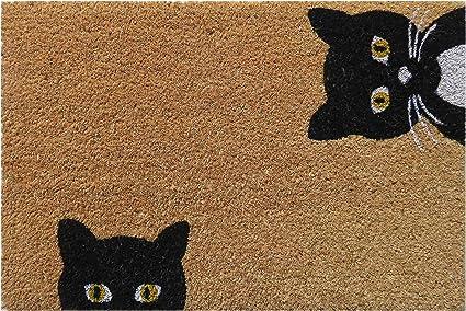 Wood Meets Color Paillasson antid/érapant en feutre de laine lavable 40*60