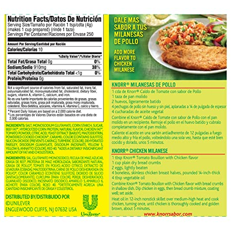 Amazon.com : Knorr Granulated Bouillon, Tomato Chicken 35.3 oz : Grocery & Gourmet Food