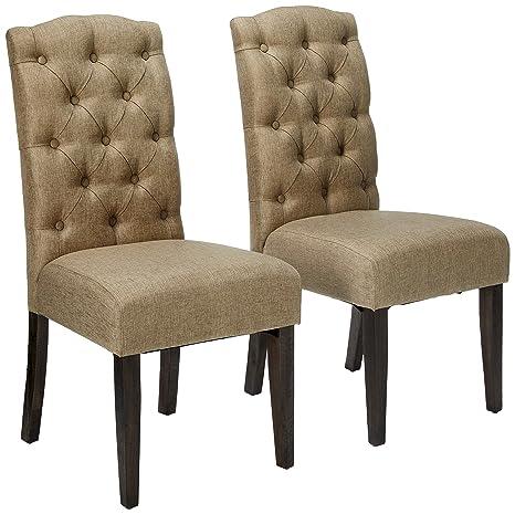 Stupendous Alpine Furniture Newberry Parson Chairs Short Links Chair Design For Home Short Linksinfo