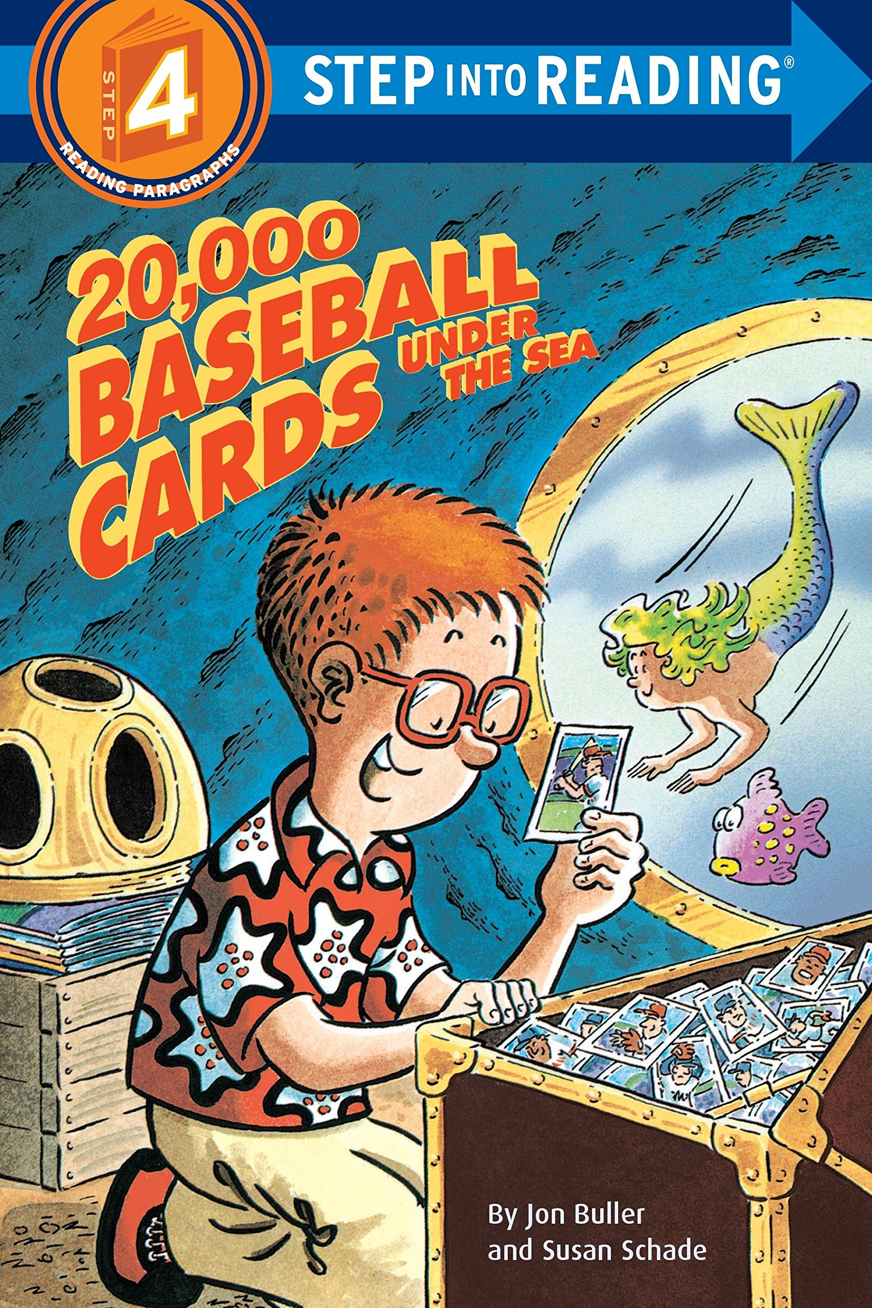 Amazon.com: 20,000 Baseball Cards Under the Sea (Step-Into-Reading, Step 4)  (9780679815693): Jon Buller: Books