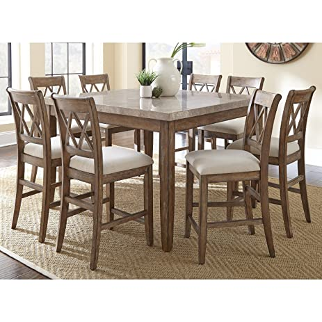 Greyson Living Fulham Counter Height Dining Set By 8 Piece 8 Piece Sets