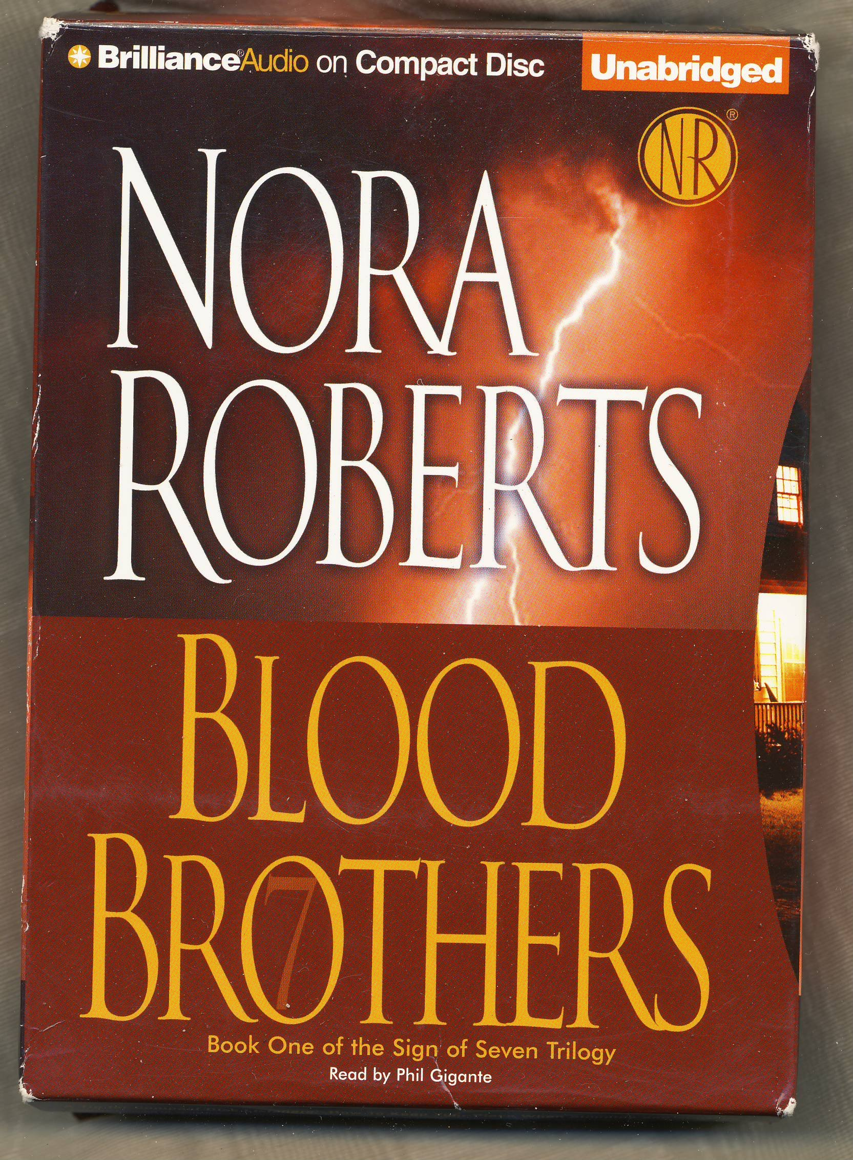 Blood Brothers by Nora Roberts Unabridged CD Audiobook (Sign of Seven Trilogy) PDF