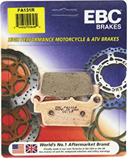 Honda TRX450R TRX450ER FA185R FA373R EBC R Series Front /& Rear Brake Pad Set