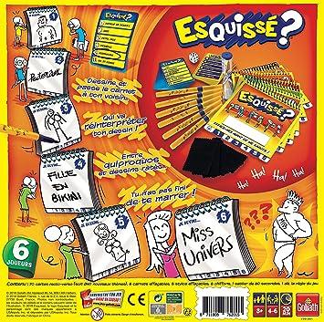 Goliath - Juego de tablero, 4 a 6 jugadores (76201.006) (versión en francés): Amazon.es: Juguetes y juegos