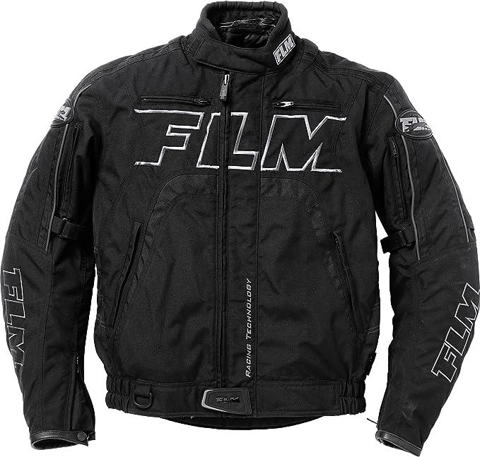 Herren FLM Motorradjacke mit Protektoren Motorrad Jacke Sommer Sports Textiljacke 6.0 Sportler Polyester