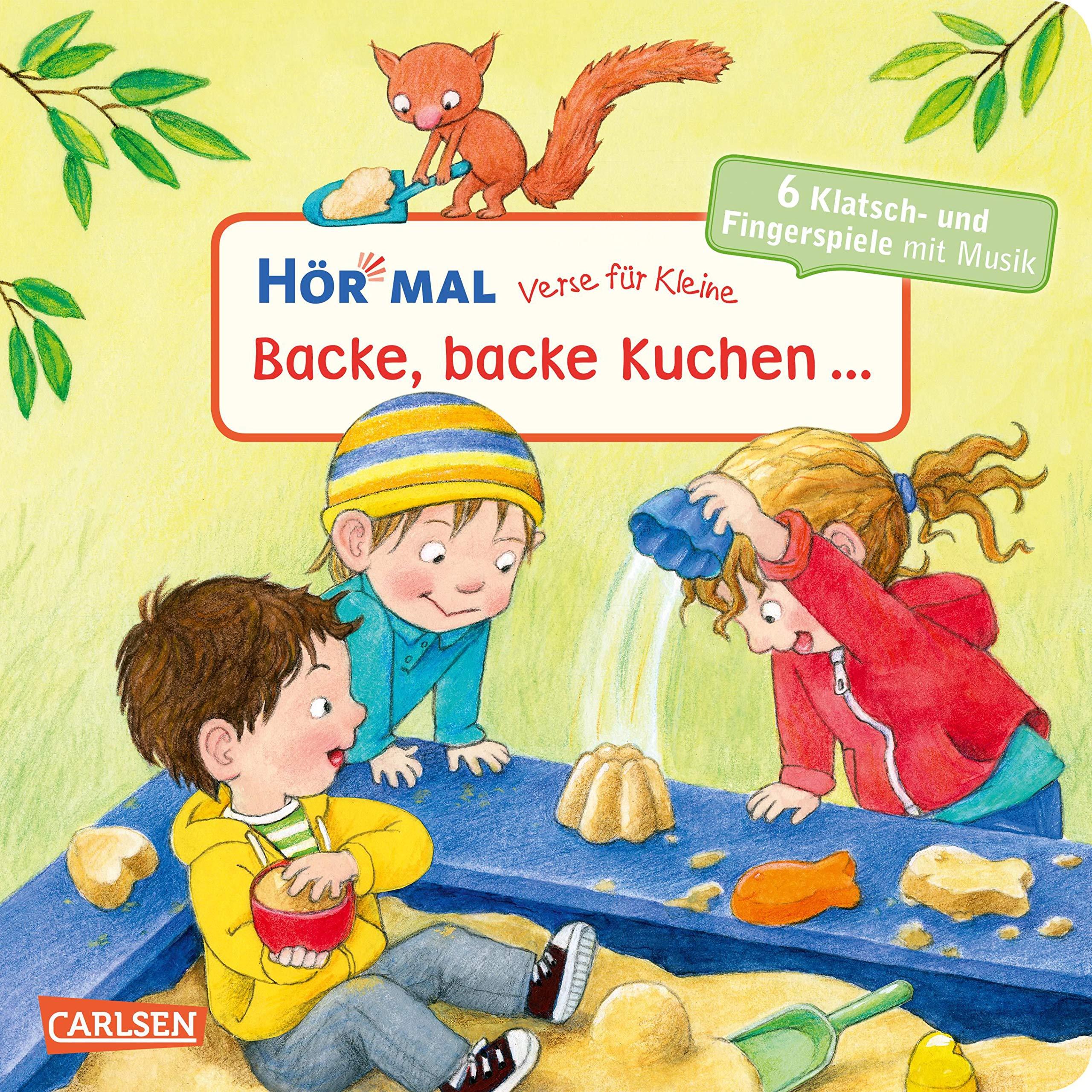Verse Fur Kleine Backe Backe Kuchen Und Andere Klatschlieder