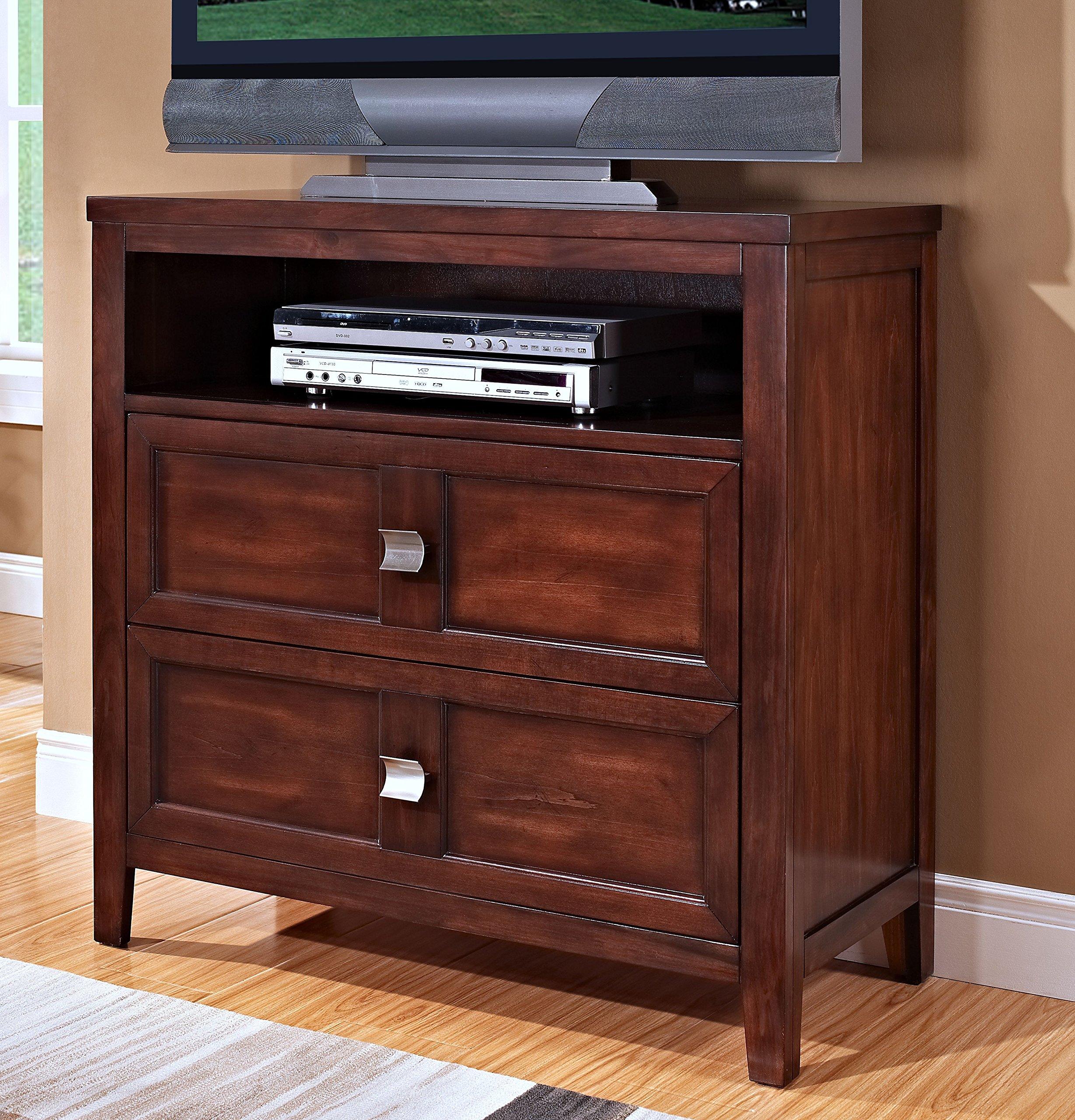New Classic 00-143-078 Garrett Media Chest, Chestnut