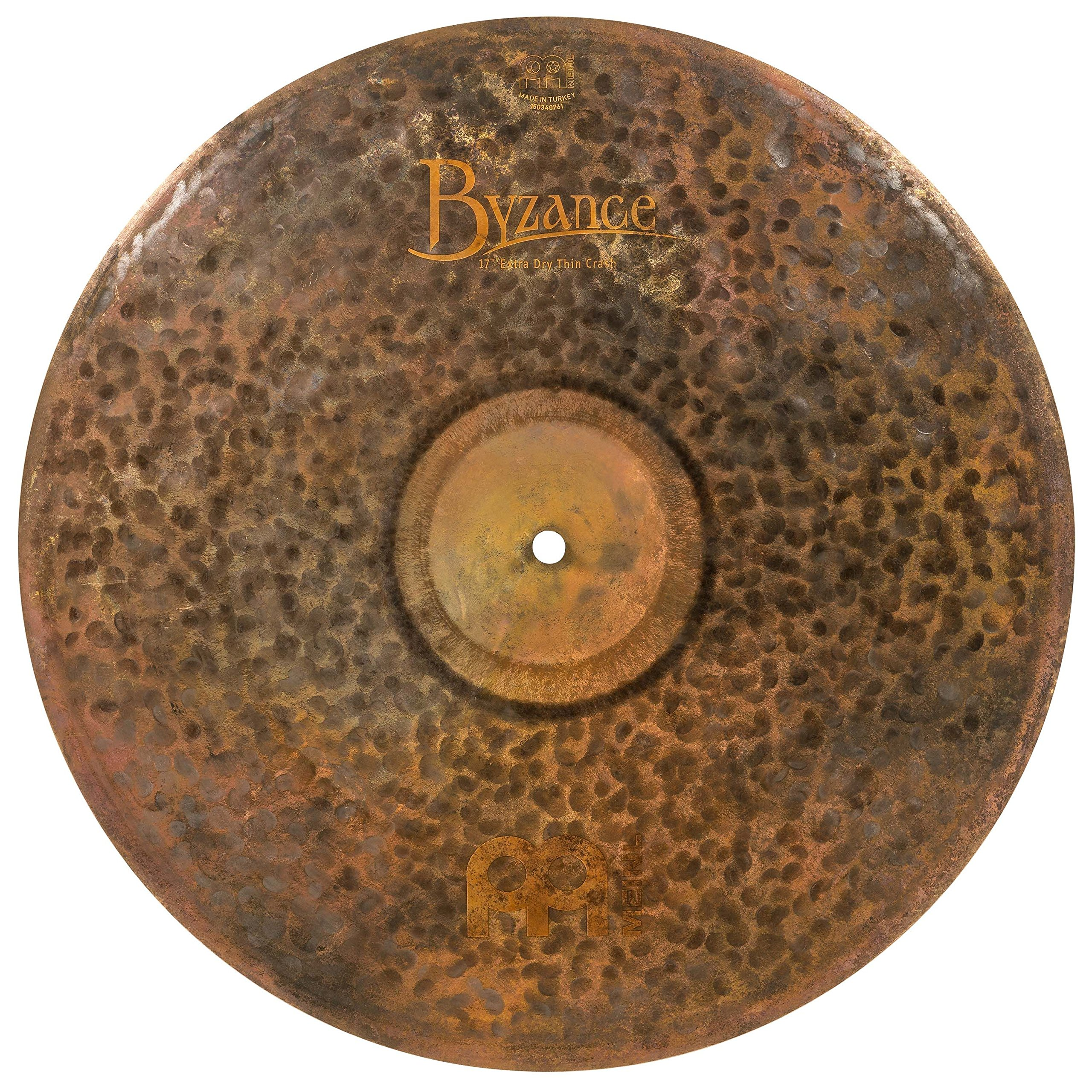 Meinl Cymbals B17EDTC Byzance 17-Inch Extra Dry Thin Crash Cymbal (VIDEO) by Meinl Cymbals