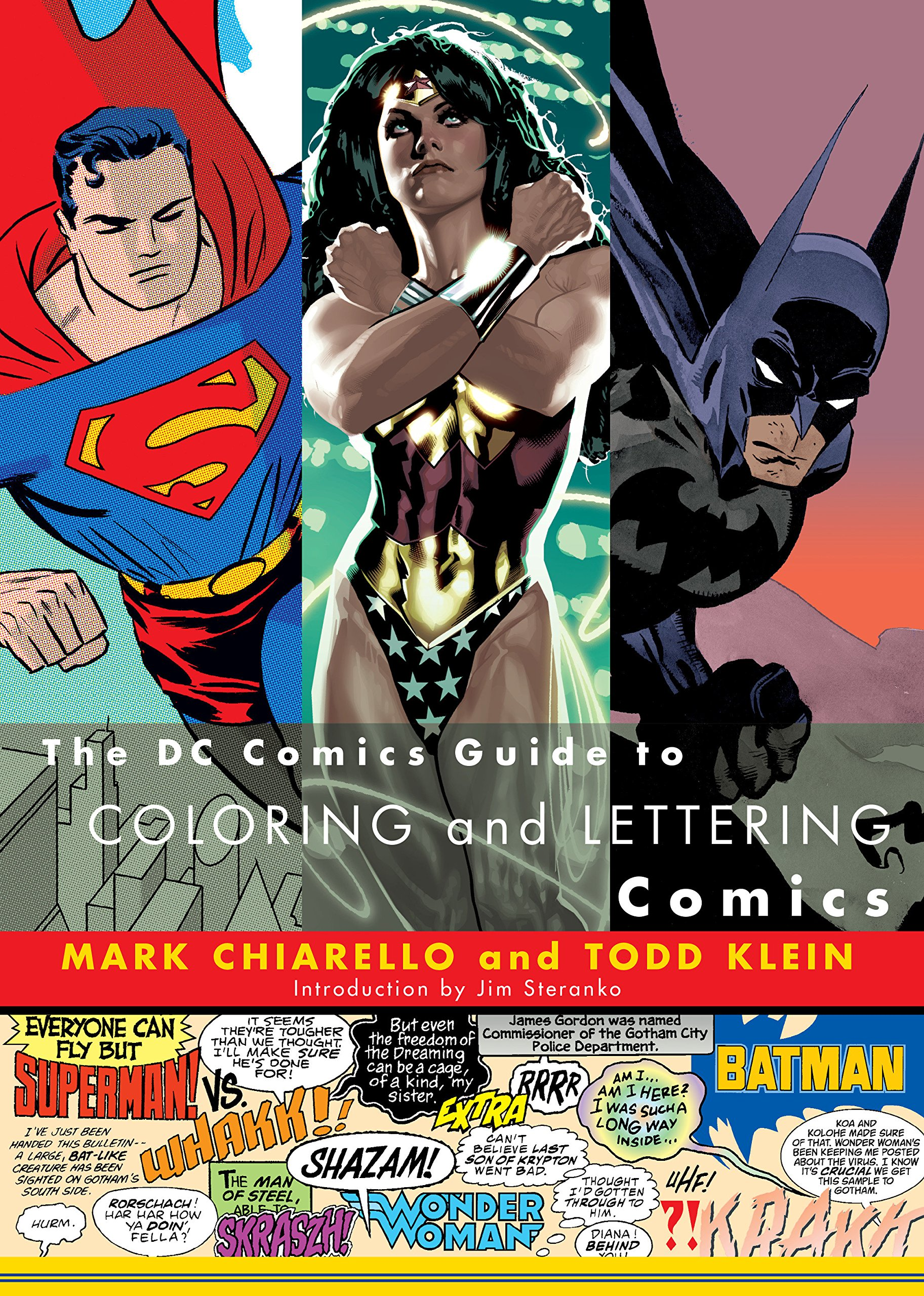 DC Comics Guide to Coloring and Lettering Comics pdf