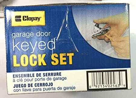 Clopay Garage Door Keyed Lock Set Amazon Diy Tools