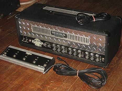 Mesa Boogie Triple Rectifier Reborn · Cabezal guitarra: Amazon.es ...