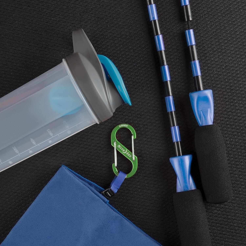 Nite Ize Unisexs S-Biner Dual Aluminum Carabiner Size 2 Blue