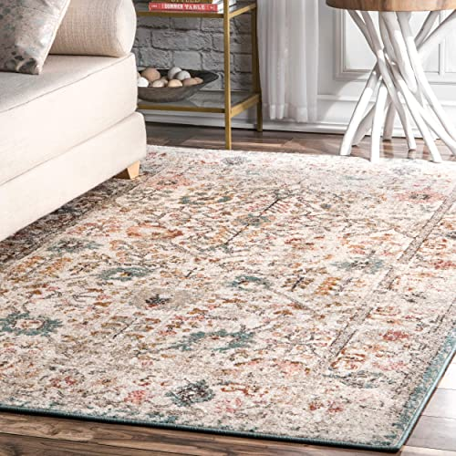 nuLOOM Rose Persian Vintage Area Rug
