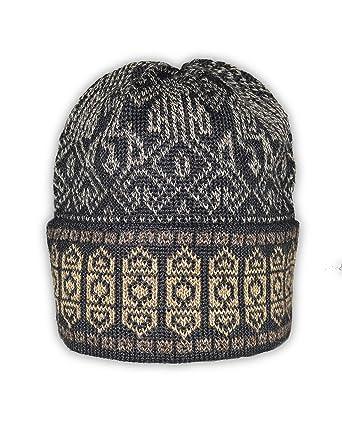 0ee079b4bc106e Invisible World Women's Alpaca Wool Hat Knit Unisex Beanie Winter Graffiti  Md