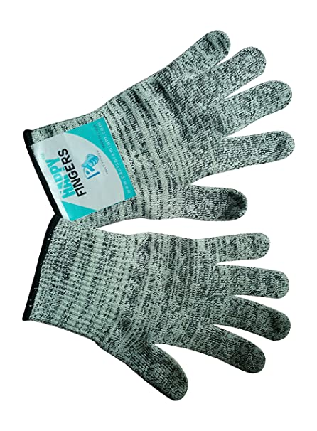 Amazon Com Cut Resistant Gloves Happy Fingers For Kitchen With Best