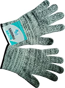 Cut Resistant Gloves Happy Fingers for Kitchen with Best Level 5 Protection and Durability from Paul's Premium