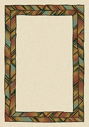 Milliken 4000040364 Innovations Collection Zuni Rectangle Area Rug, 10 9 x 13 2 , Opal