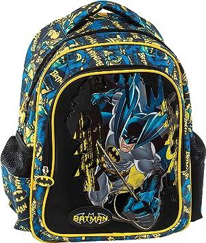 Graffiti Batman School Backpack, 30 cm, Black