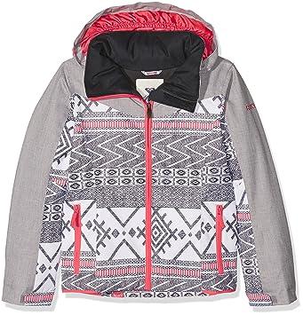 Roxy Sassy - Chaqueta de esquí para niña Windy Road True Black FR: 10 ANS (Talla Fabricante: 10/M): Roxy: Amazon.es: Deportes y aire libre