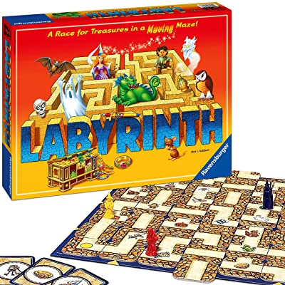 Ravensburger Labyrinth Family Board Game for Kids and Adults Age 7 and Up - Millions Sold, Easy to Learn and Play with Great Replay Value (26448): Toys & Games