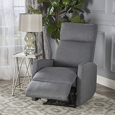 Christopher Knight Home 302061 Sophie Power Recliner Chair, Charcoal