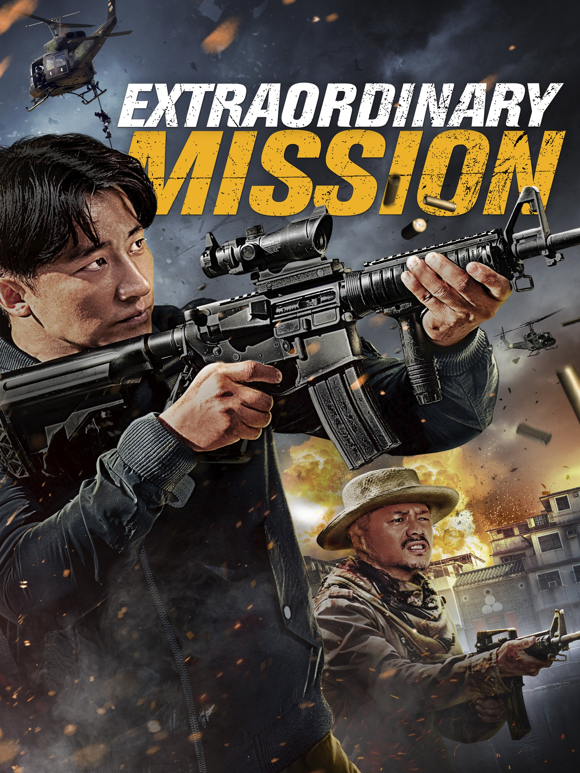 extraordinary mission full movie in hindi