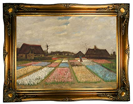 Amazon historic art gallery flower beds in holland bulb
