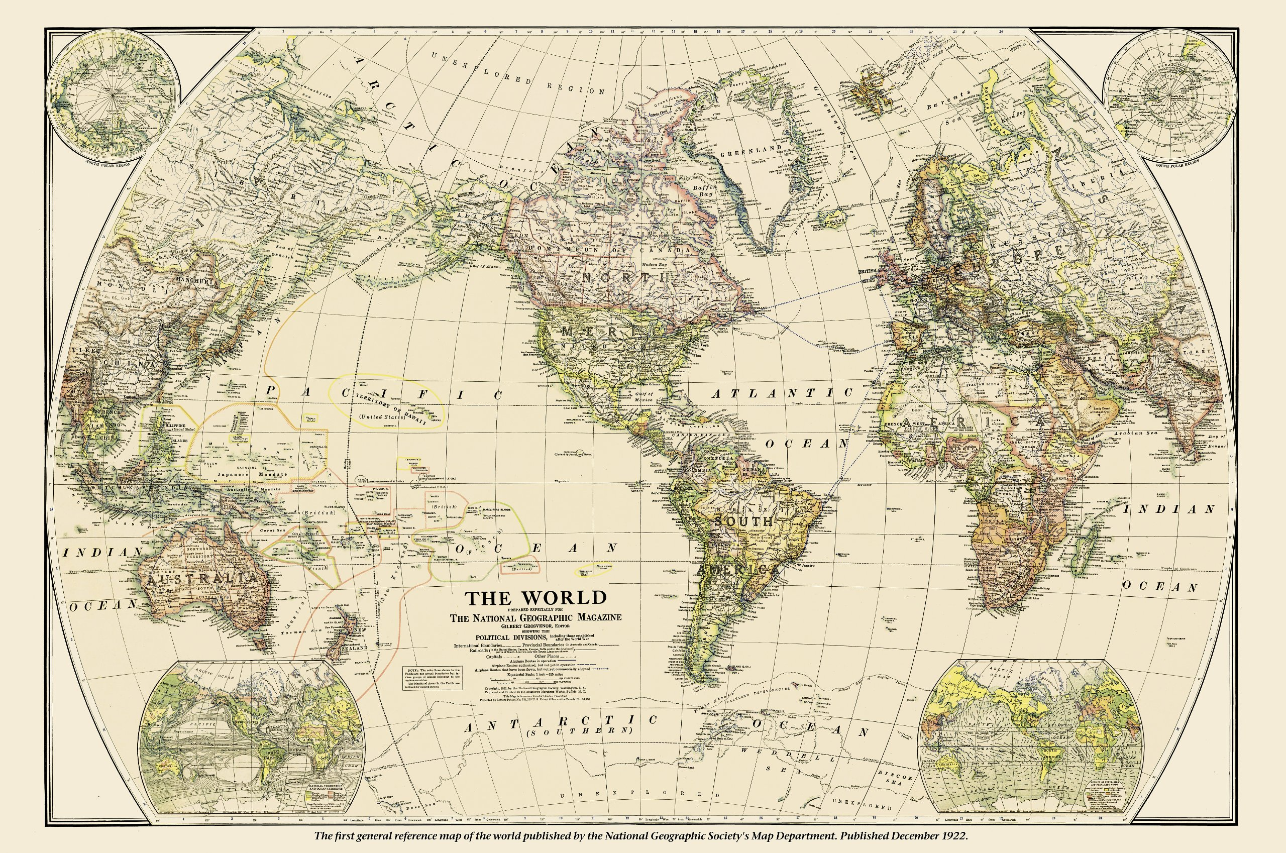 National geographic ngs 125th anniversary world map wall map national geographic ngs 125th anniversary world map wall map laminated 46 x 305 inches national geographic reference map national geographic maps gumiabroncs Image collections