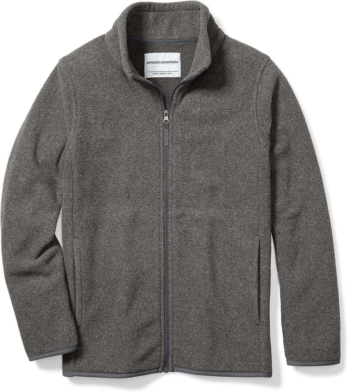 Essentials Boys Full-Zip Polar Fleece Jacket Bambino