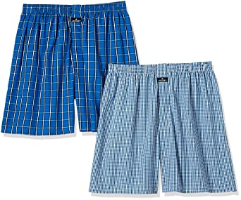 Jockey Men's Cotton Boxers (Pack of 2) Men's Boxer Shorts at amazon