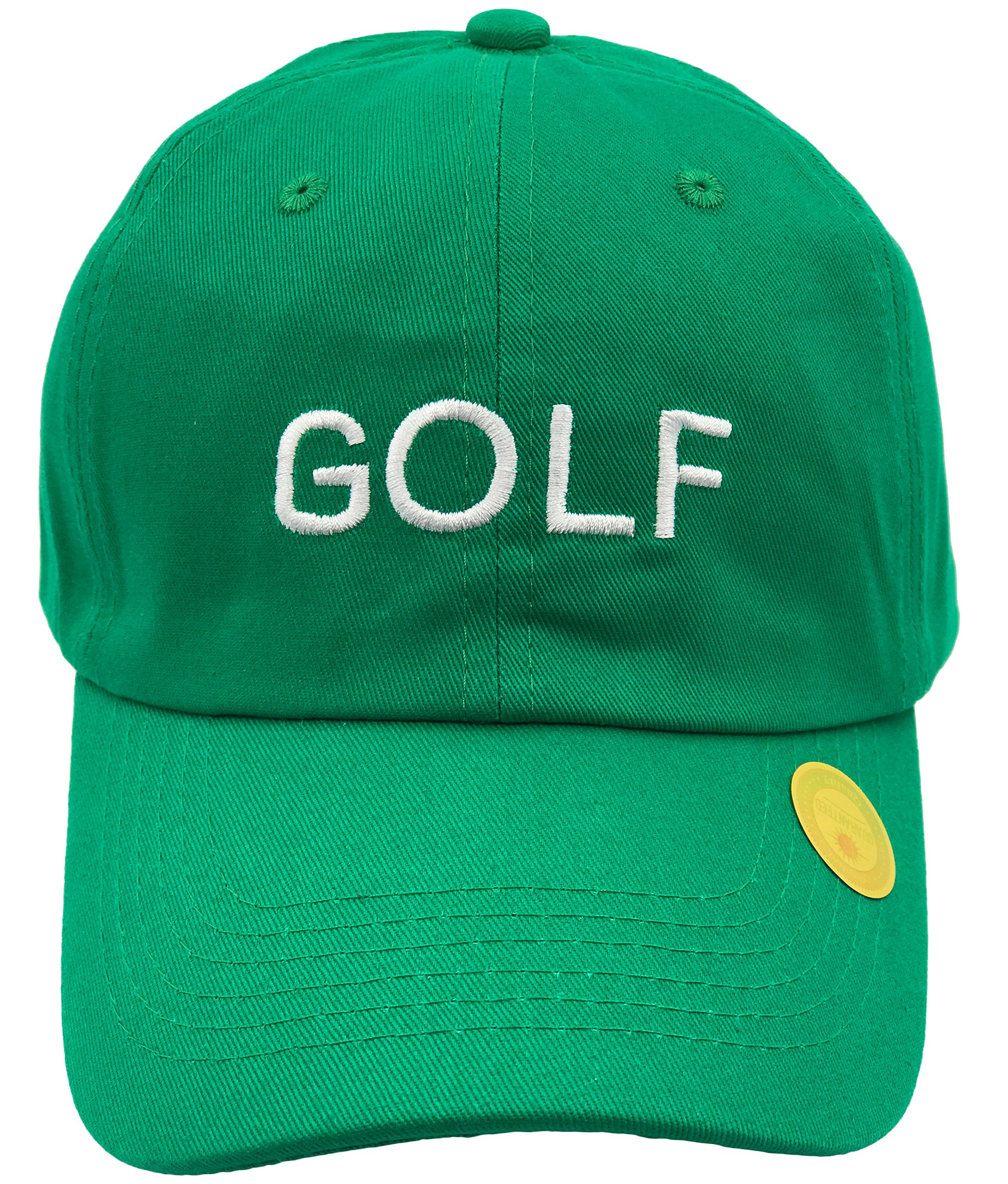 862e8fe6239b Galleon - Golf Hat Dad Hat Cap Wang Odd Future Wolf Gang Tyler The Creator  Embroidered (Green)