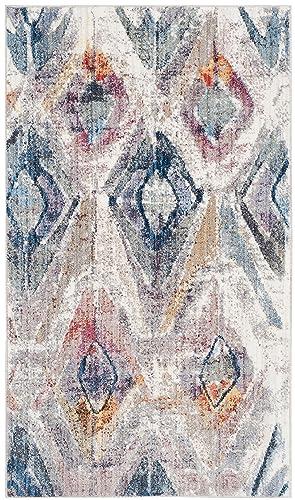 Safavieh Bristol Collection Area Rug, 4 x 6 , Lavender Light Grey
