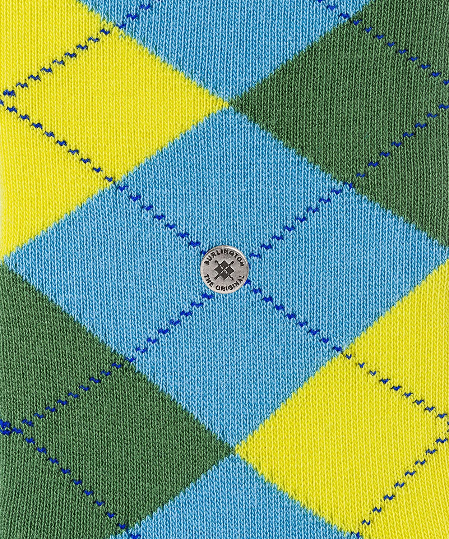 Burlington Herren Argyle Socken Blickdicht