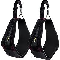 Flexibility Tools - Correas ajustables para abdominales, cuelga de la rodilla, Barra de dominadas para entrenamiento abdominal, Correa de longitud ajustable acolchada, cómoda, duradera